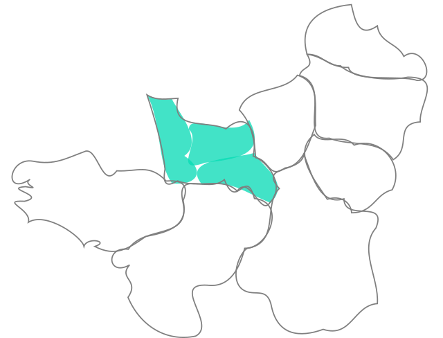 Carte de Normandie